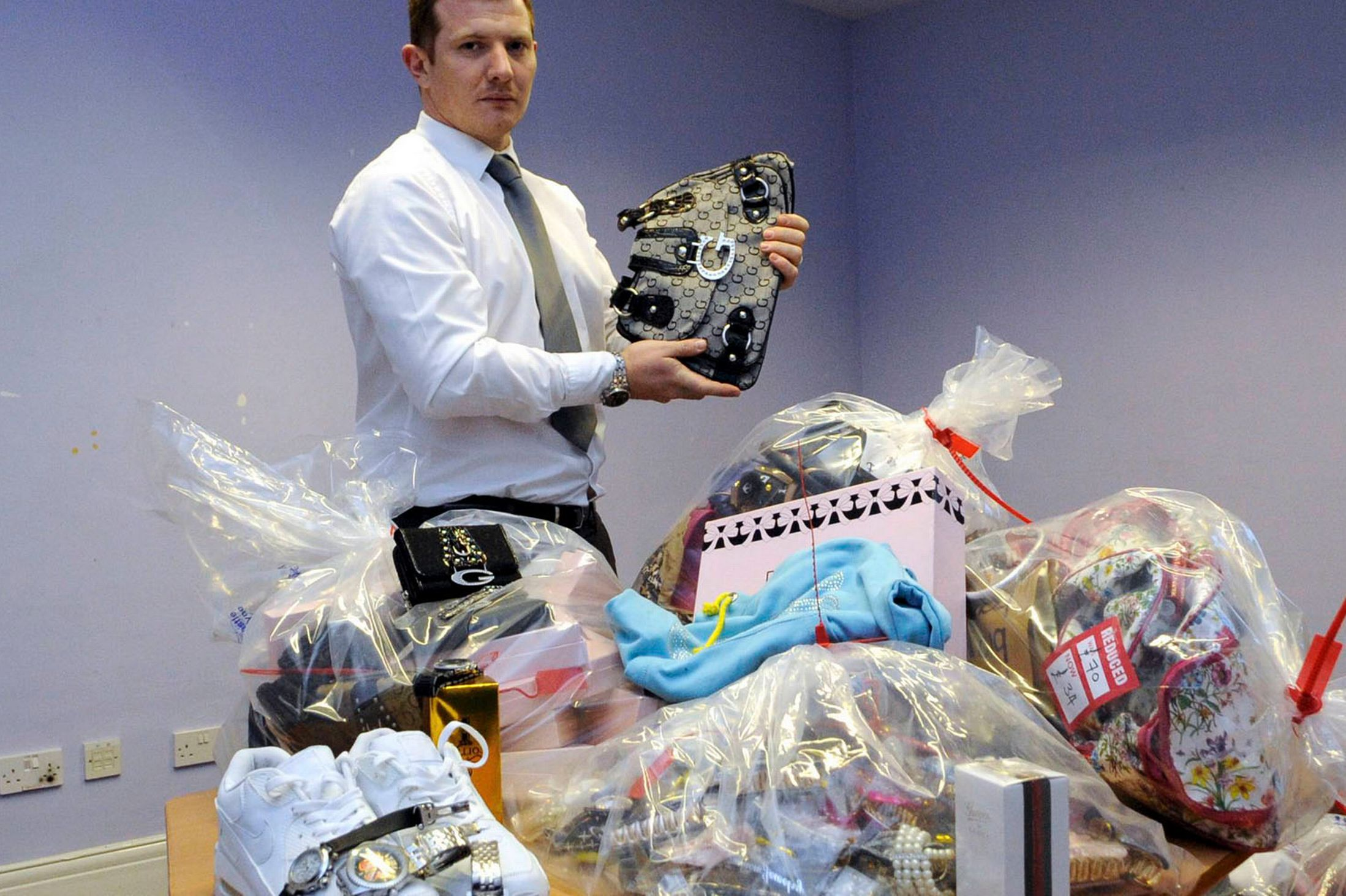 SUNDAY ONLY  Trading Standards Counterfeit Goods Seizures-1491766